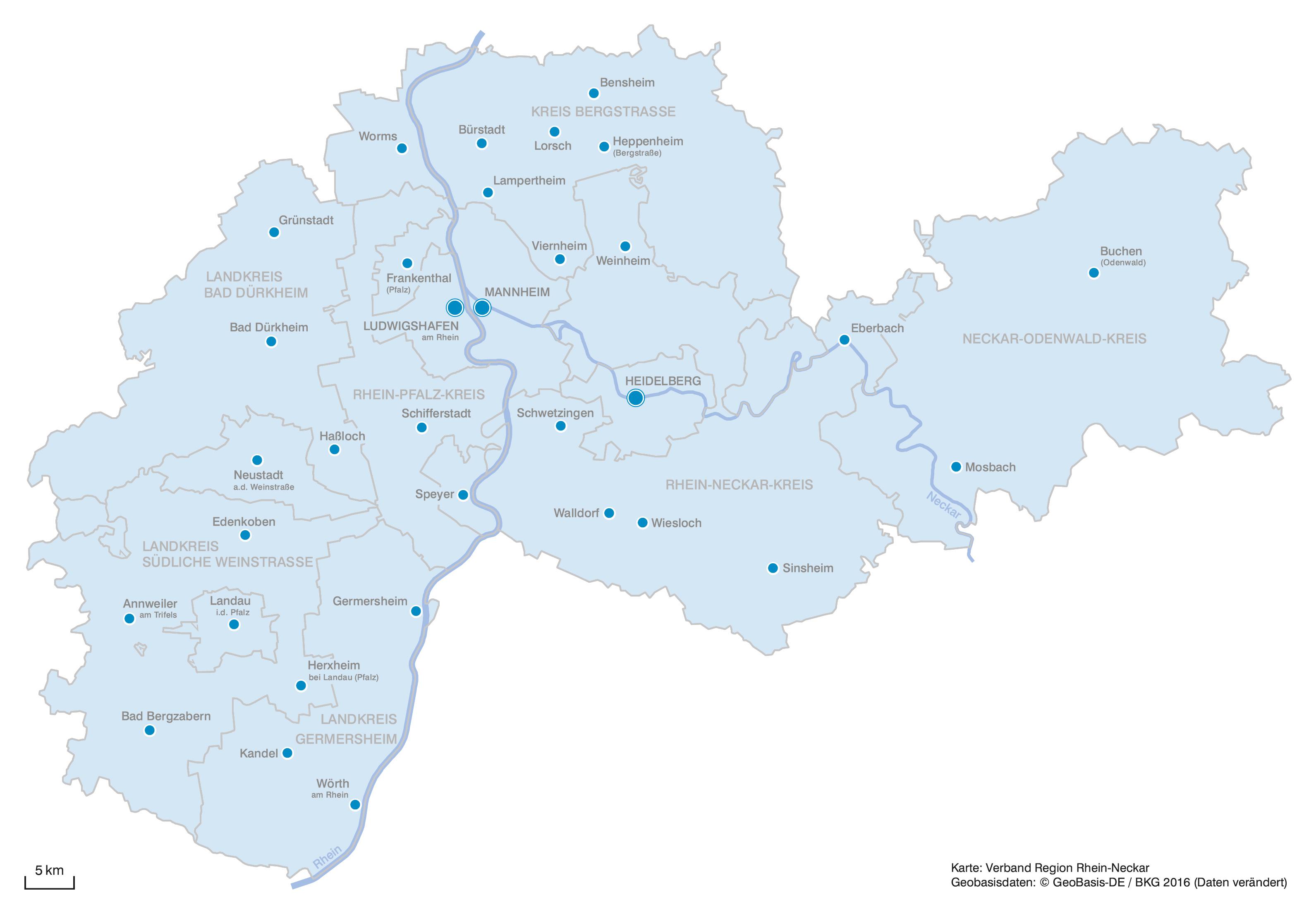 Bekjente Rhine Neckar